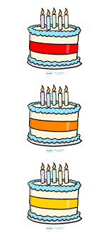 Twinkl Resources Editable Birthday Cake Five Candles Thousands