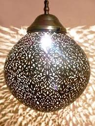 moroccan pendant chandelier lamp ceiling light fixture interior canada