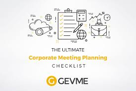 Meeting Planning Checklists Corporate Event Planning Checklist