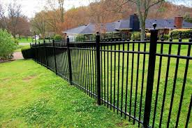 an aluminum fence how to diy install iron fence or aluminum on a hill slope rhblogironfencecom
