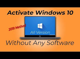 how to activate windows 10 pro in hp