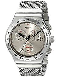 swatch watches buy swatch watches for men women online in swatch irony analog silver dial men s watch yvs405g