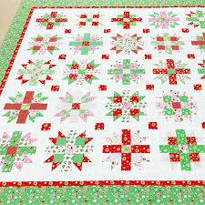 Starlit Joy quilt pattern made with Elea Lutz' Little Joys fabric ... & Starlit Joy quilt pattern made with Elea Lutz' Little Joys fabric collection.  #ilovepennyrose Adamdwight.com