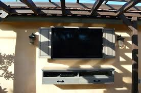 tv cabinet with doors for flat screen rustic outdoor wall mounted cabinets for flat screens with