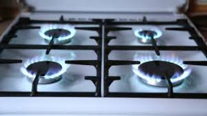 gas stove top burners.  Gas Natural Gas Inflammation In Stove Burner Close Up View Stove Top Burners  Turns On For Gas Top Burners O