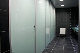 Bathroom Partitions Inside Glass Toilet Cubicles Glass Toilet - Bathroom toilet partitions