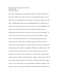 proposal essay examplehow to write a good proposal essay sample argumentative sample essay   resume sample information sample