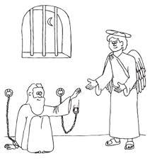 663a2552f5f9b9ead347316aacb08772 peter is miraculously released from prison coloring page this on philip and the ethiopian eunuch coloring page
