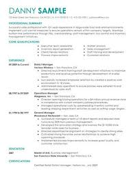 Sample Manager Resume Fascinating Top Managers Resume Samples Pro Writing Tips ResumeNow
