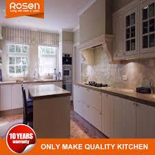 modern furniture modular rta solid wood flat pack kitchen cabinets