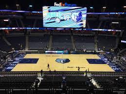 Fedex Forum Section P11 Memphis Grizzlies Rateyourseats Com