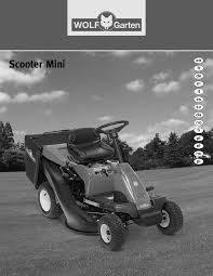 View and download wolf garten scooter sv 4 instruction manual online. Wolf Garten Scooter Mini Manual
