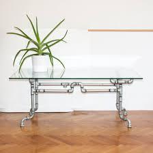 Steel Decoration Design Steel Tube Table RustyCity Handmade Rustic Industrial 2