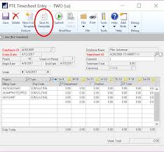 Project Time & Expense Timesheet Template Option - Microsoft ...