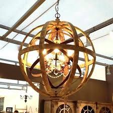 wood and metal lighting best of metal globe chandelier for metal orb chandelier wooden orb chandelier wood and metal