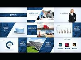 After Effect Presentation Template Free Corporate Video Template After Effects Business Es Photo