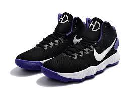 nike basketball shoes hyperdunk. nike hyperdunk 2017 ep black white purple men basketball shoes