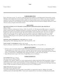 Career Goal Examples For Resume Socalbrowncoats