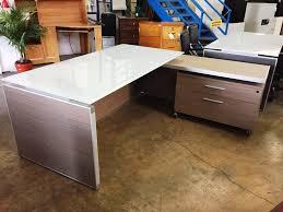 l shaped office desk ikea. Awesome L Shaped Desks For Workspace Decorating: Glass Ikea And Polished Concrete Office Desk U