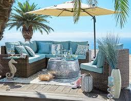 beach coastal furniture. breezy blue outdoor beach decor u0026 furniture from pier 1 http coastal