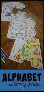 Free Alphabet Coloring Pages Kindergarten Worksheets And Games