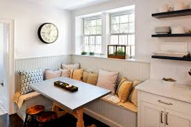 Kitchen breakfast nook furniture Contemporary Kitchen View In Gallery Homedit 20 Ideas For Your Breakfast Nook Bench