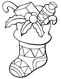 Small Picture Christmas Stocking Coloring Pages CP Xmas Stockings