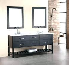 dark brown stained bathroom vanity staining cabinets converse inch french gray finish