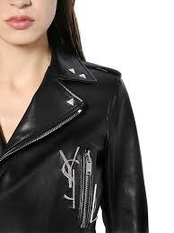 saint lau leather jacket
