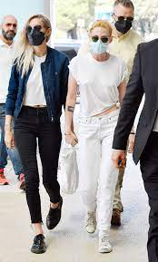 Kristen Stewart Arrives at the Venice ...