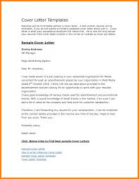 7 Templates For Cover Letters Free G Unitrecors