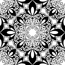 Abstract Art Black And White Patterns Abstract Black And White Seamless Pattern