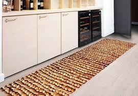 black kitchen rug area western rugs slice mats floor navy mat white striped