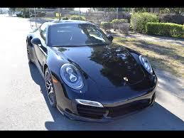 SOLD 2015 Porsche 911 Turbo S Coupe Black - YouTube