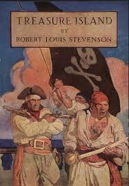 robert louis stevenson treasure island einband einer ausgabe aus dem jahr 1911