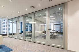 modern office partition. As For The Offices, X-series Double-glazed Partitions Were Installed. This Choice Gave A Sense Of Linear Sleekness While Ensuring Best Acoustics. Modern Office Partition E