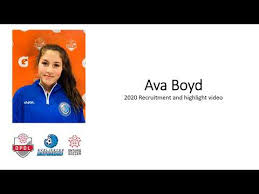 Ava Boyd - 2020 Soccer highlights - YouTube