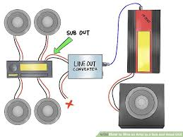 how to wire an amp to a sub and head unit 12 steps image titled wire an amp to a sub and head unit step 6