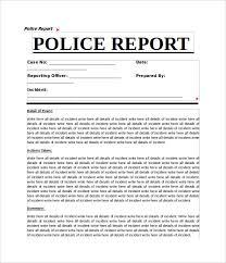 Police Reports Examples Police Report Sample Rome Fontanacountryinn Com