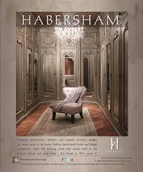 Wood Furniture Habersham In Departures Home And Design May June 2013 Issue Habersham Advertisements Habersham Home Lifestyle Custom Furniture Cabinetry
