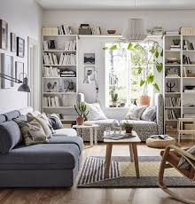 living room furniture ideas amusing small. Amusing Living Room Furniture Ideas Brown For Small Spaces White Wall Shelves Grey Patterned Couch Sofa Wooden Table S