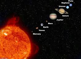 Sky Chart Tonight Spectacle In The Sky As Venus And