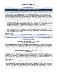 Logistics Manager Resume Supply Chain Profile Examples Lovely Job