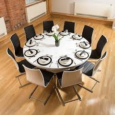 Large Dining Tables To Seat 10 Dining Room Table 1 Nottingham Solid Wood Trestle Pedestal