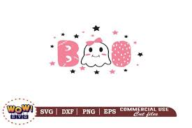 The format of some files is incorrect. Boo Svg Halloween Svg Cute Boo Svg Graphic By Wowsvgstudio Creative Fabrica
