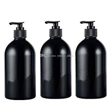 black soap dispenser pump. Plain Pump 500ml Empty Lotion Pump Black BottlePet Cosmetic Container With Liquid Soap  Dispenser Amber Spray Refillable Bottle Waterford Perfume Best  For