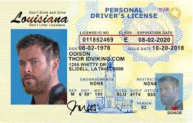 Ids Fake Idviking License- Drivers Scannable - Best Louisiana la Id
