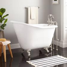 52 wallace cast iron slipper clawfoot tub