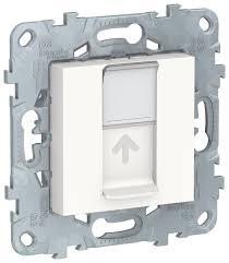 <b>Розетка</b> для интернета / телефона <b>Schneider Electric NU541118</b> ...