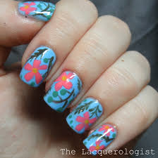 Floral Nails with Priti NYC Summer in the Bahamas Shades! • Casual ...